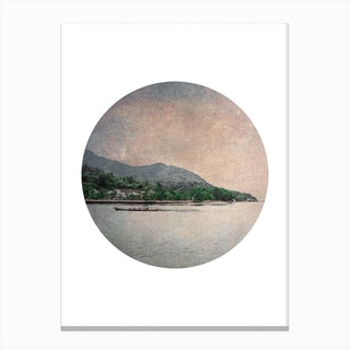 Circular Boat Canvas Print