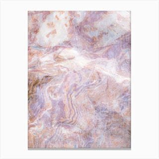 Pink Gemstone Canvas Print
