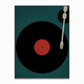Let The Music Play Canvas Print
