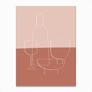 Tablewear Canvas Print