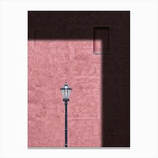 Pink Frame Canvas Print