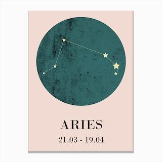 Aries  I Canvas Print
