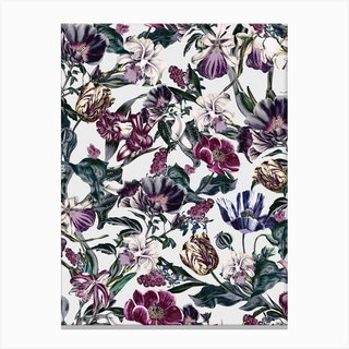 Fractal Flora Canvas Print