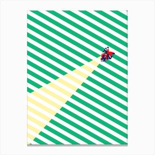 Vespa Love Canvas Print