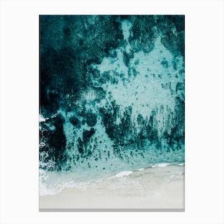 Beach Patterns I Canvas Print