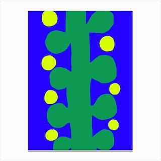 Plant Stalk Canvas Print