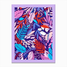 Purple Forest Canvas Print