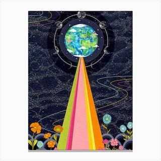 Love Earth Canvas Print