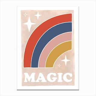 Magic Rainbow Canvas Print