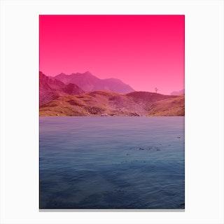 Atmosphere 60 · Pink Canvas Print