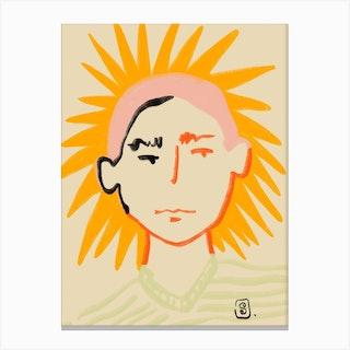 Shiny Boy Canvas Print