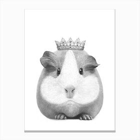 Queen Guinea Pig Canvas Print