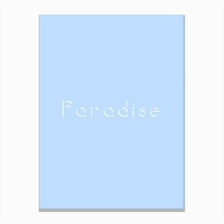 Empty Paradise Canvas Print