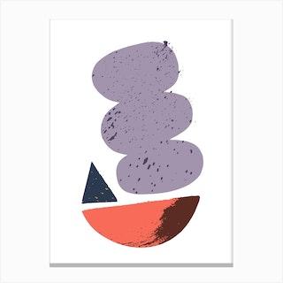 Abstract Salad Bowl Canvas Print