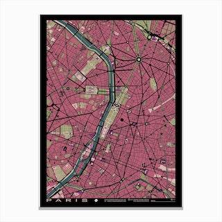 Paris Malva Canvas Print