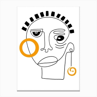 Ikemba Canvas Print