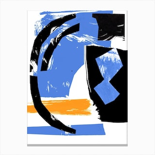 Abstract Composition 2 Canvas Print