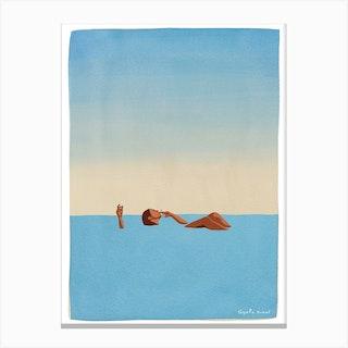 Dead Sea Canvas Print