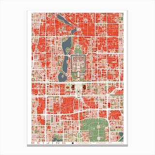 Beijing Classic Canvas Print