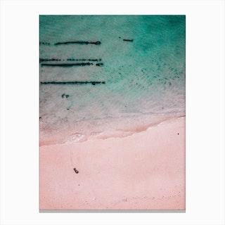 Beach Patterns Ii Canvas Print