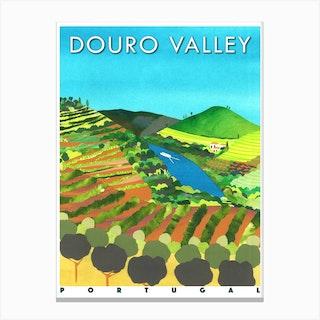 Douro Valley Canvas Print