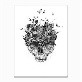My Head is a Jungle II Canvas Print