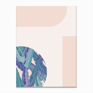 Mid Century Candy Tropical Pt 01 Jpg Canvas Print