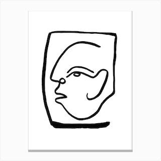 Faces 24 Std Canvas Print
