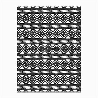 Scandi Pattern No 2 Canvas Print