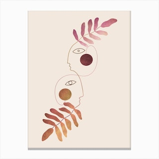 To Grow Together Canvas Print