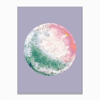 Ganymede Lilac Canvas Print