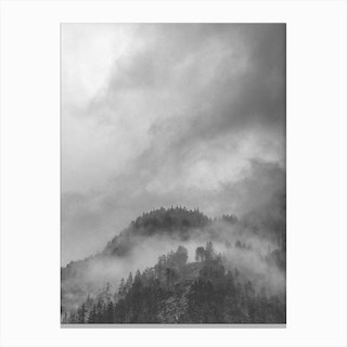 Moody Clouds V Canvas Print