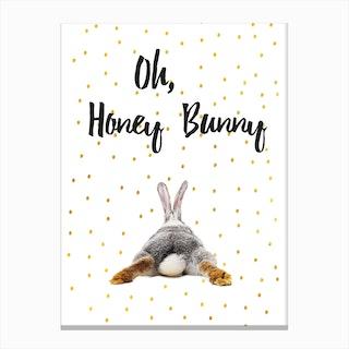 Honey Bunny Canvas Print