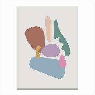 Shape Study 02 Canvas Print
