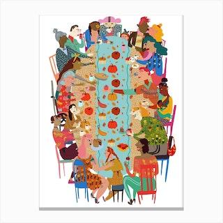 Chosen Family Canvas Print