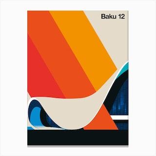Baku 12 Canvas Print