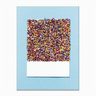 Glitter Sign Canvas Print