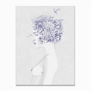 Dahlia 1 Canvas Print