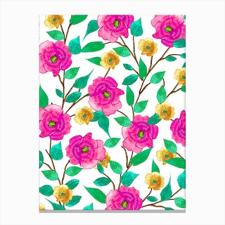 Floral Forever Canvas Print