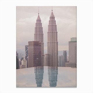 Petronas Twin Towers 5 Canvas Print