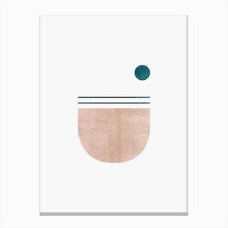 Abstract Geometric 5 Canvas Print