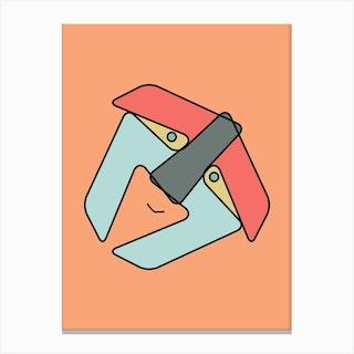 Letter Box Canvas Print