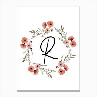 Wild Flower R Canvas Print
