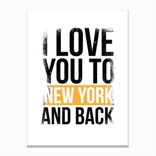 New York II Canvas Print