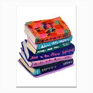 Books Canvas Print