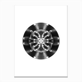 Circular Abstract Canvas Print