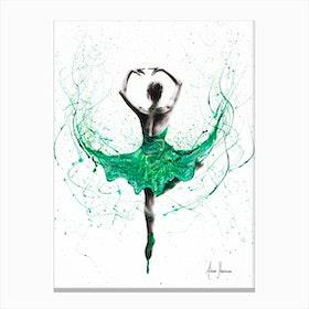 Emerald City Dancer Canvas Print