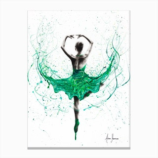 Emerald City Dancer Canvas Print