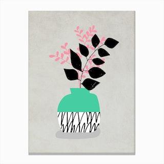 Vase Still Life Canvas Print