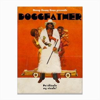 Dogg Father Canvas Print